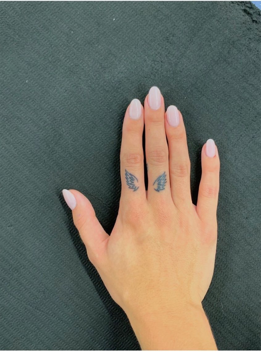 Idea By Paula Dangelo On Tattoo Inspiration In 2020 Finger Tattoos Dainty Tattoos Small Tattoos