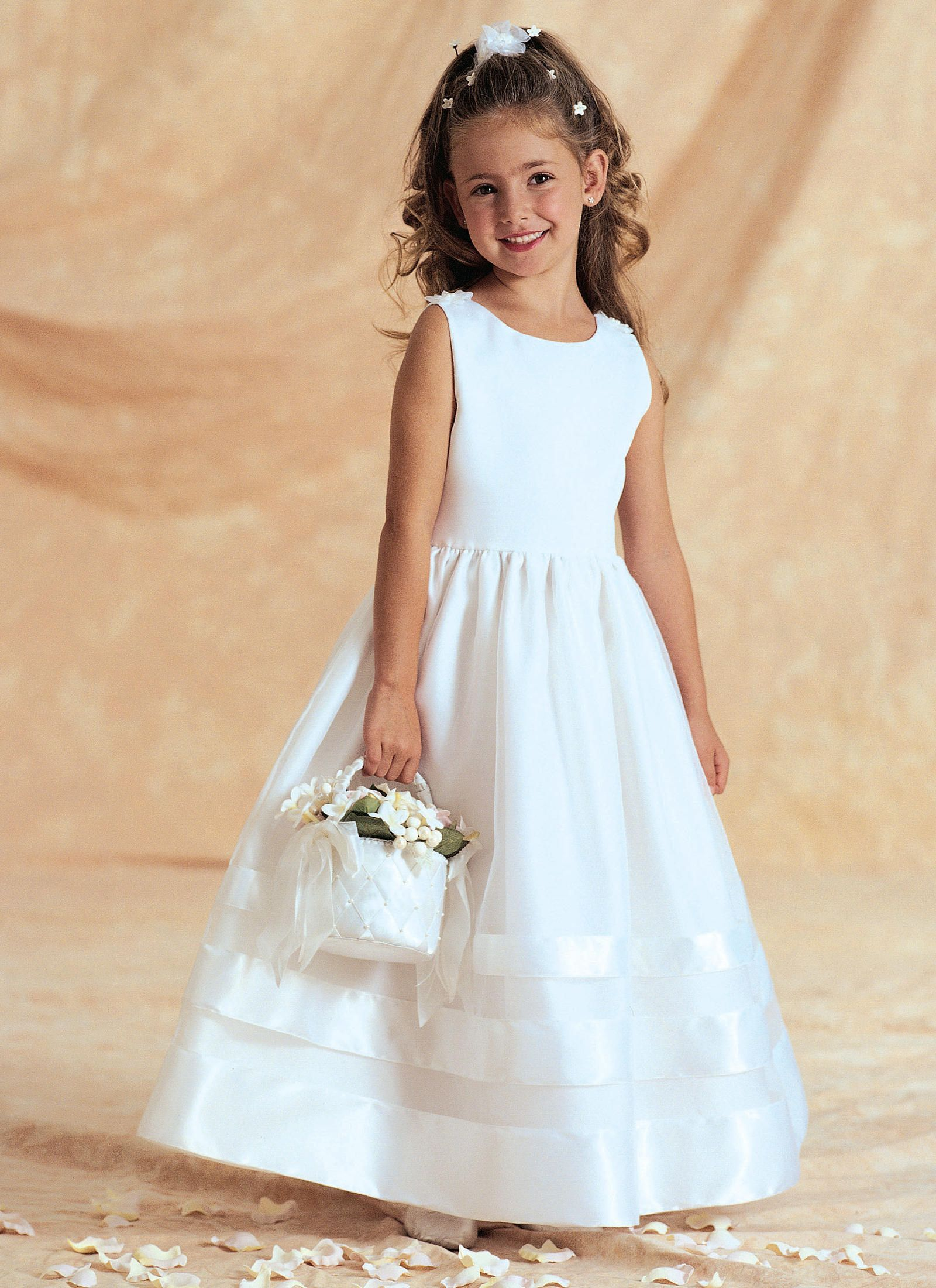 First communion dress sewing patterns choice image craft this one has a short sleeved bolero jacket but could be made long sewing pattern for ombrellifo Images