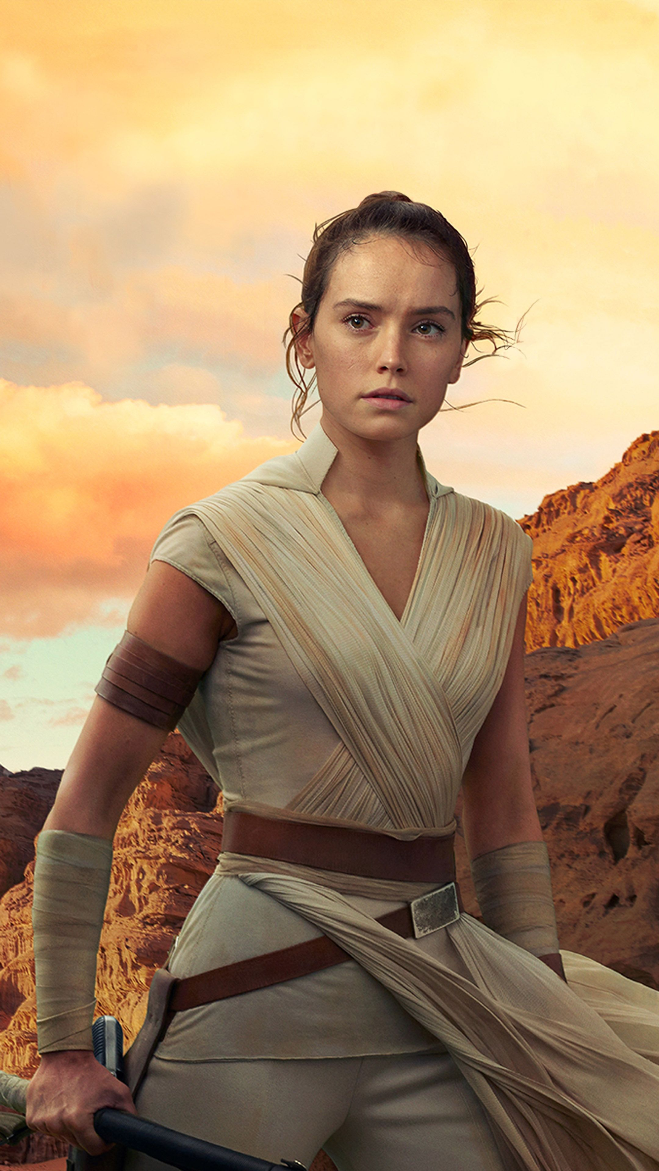 Daisy Ridley In Star Wars The Rise Of Skywalker Daisy Ridley