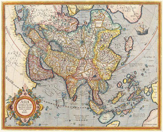 World Maps Map Poster Old World Maps World Globe World Map Print