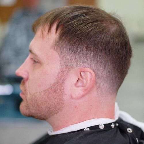 Pleasing Mens Tapered Haircut For Receding Hairline Haircuts Pinterest Hairstyles For Men Maxibearus