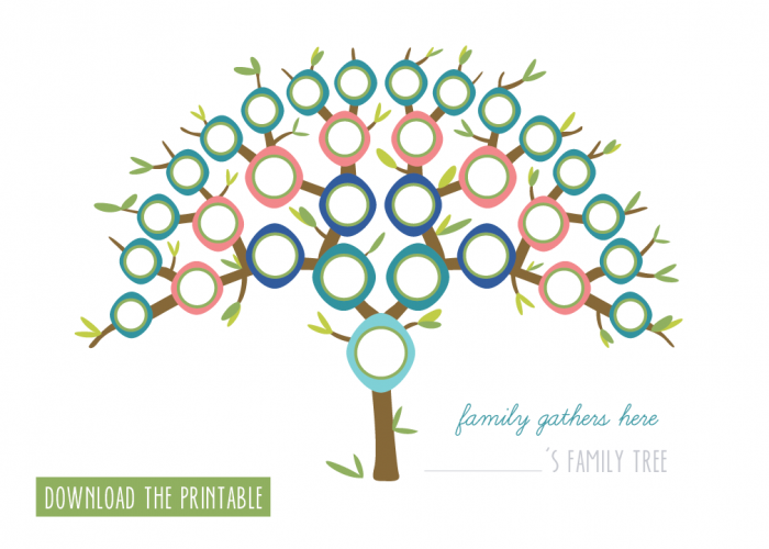 7 Creative Family Tree Printables Family Trees Creative And Free