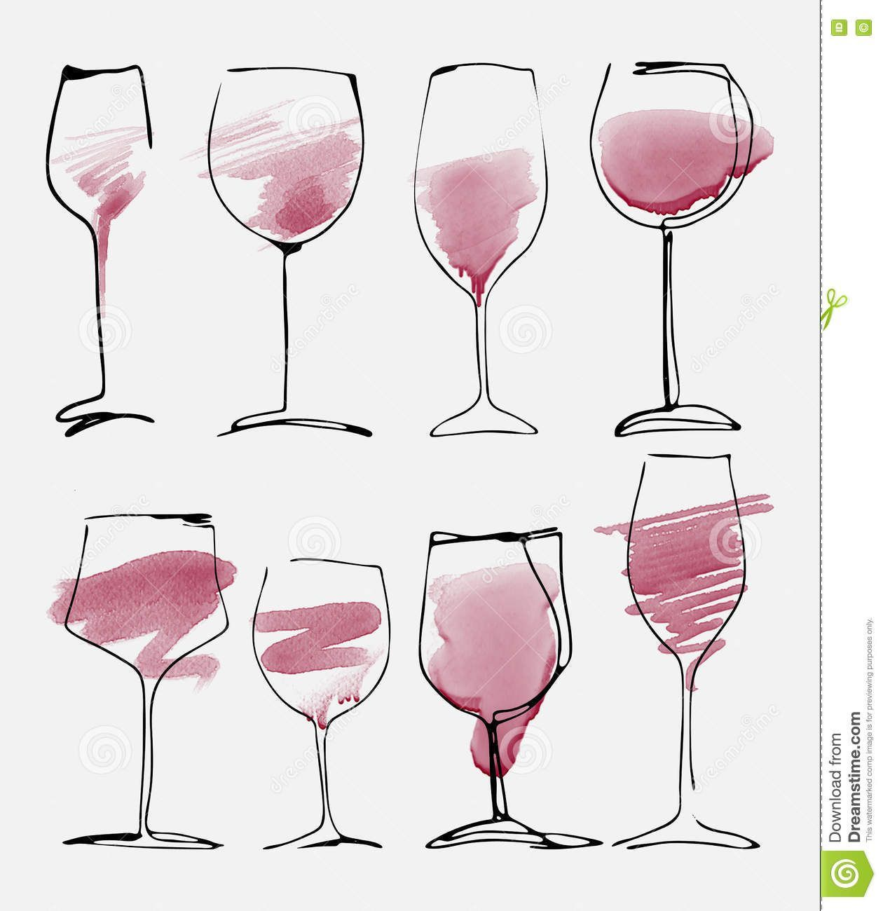 Wine Lover 4 Design Pack PNG Only Ready for Download
