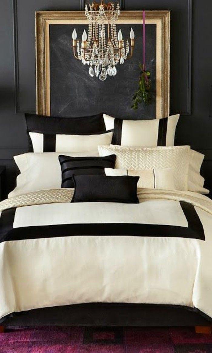 schlafzimmer dekorieren gestalten sie ihre wohlf hloase pinterest kronleuchter kristalle. Black Bedroom Furniture Sets. Home Design Ideas