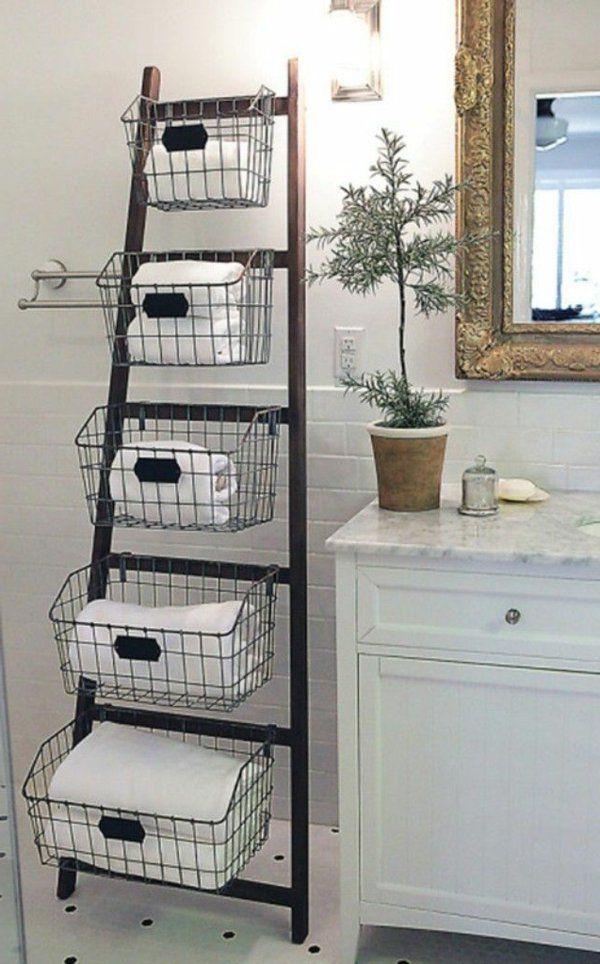 Regale Selber Bauen 73 Tolle Beispiele Und Pfiffige Ideen Regal Selber Bauen Aufbewahrung Fur Kleines Badezimmer Badezimmer Aufbewahrungssysteme