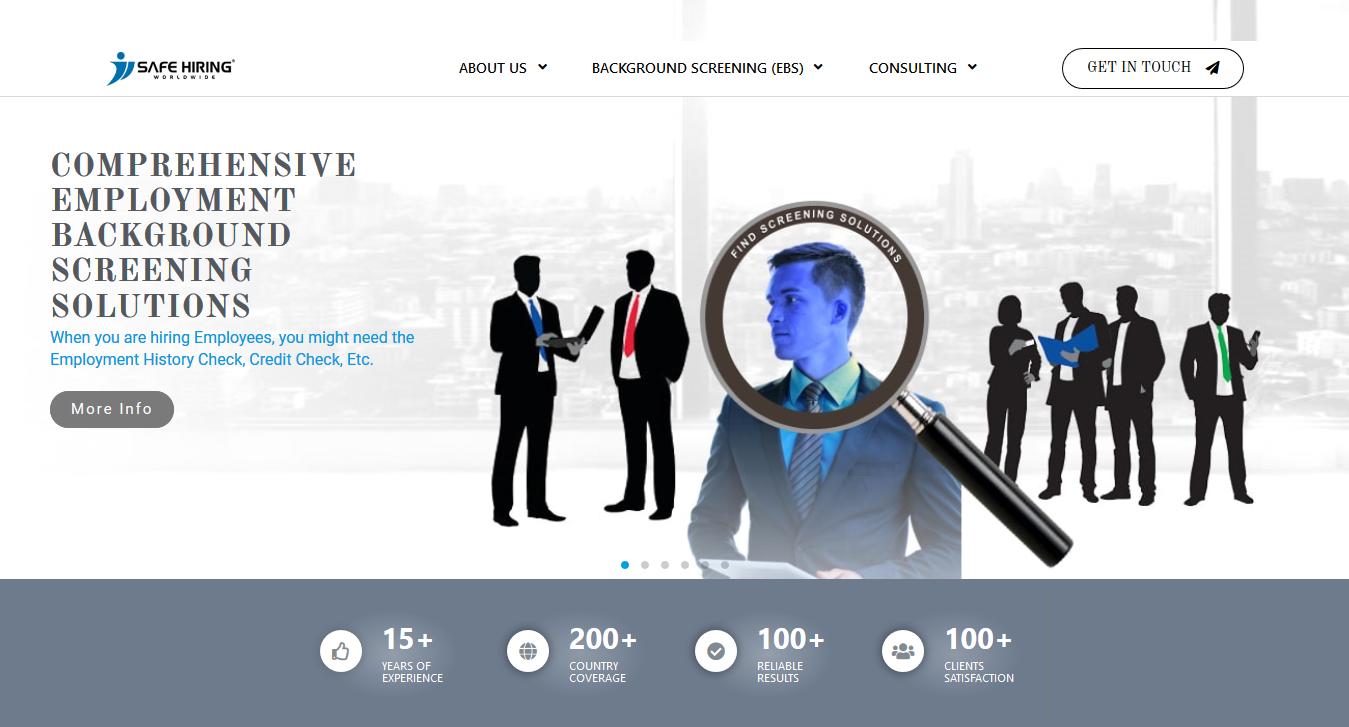 Safe Hiring Worldwide Provides A Complete Range Of Risk Management