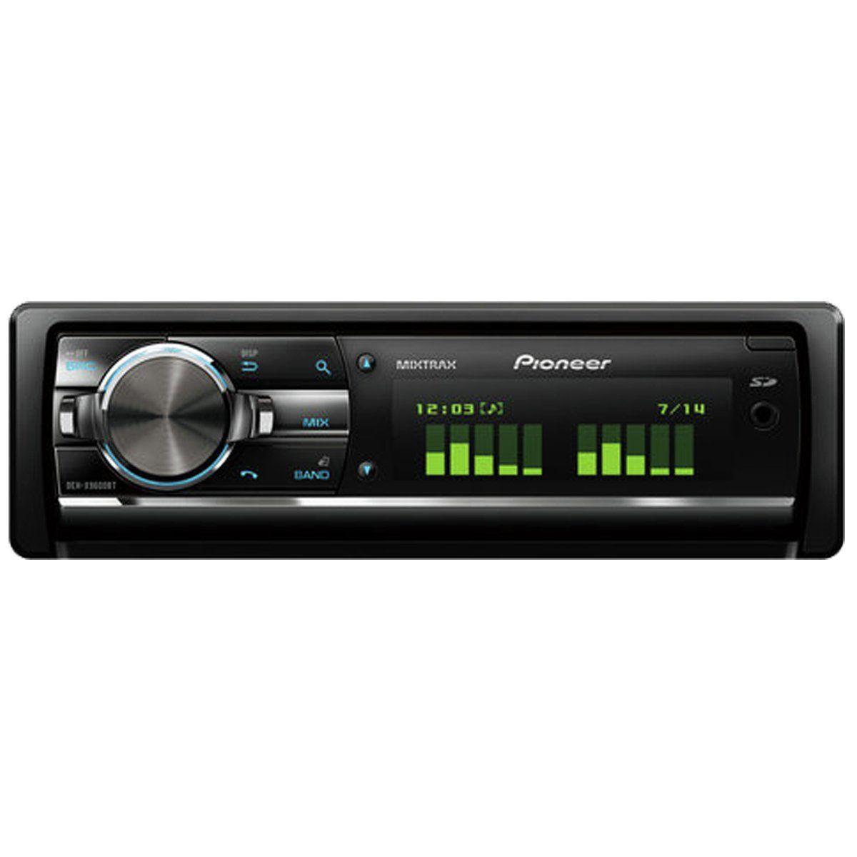 Buy Pioneer DEHX9600BT Car Stereo with Bluetooth In car
