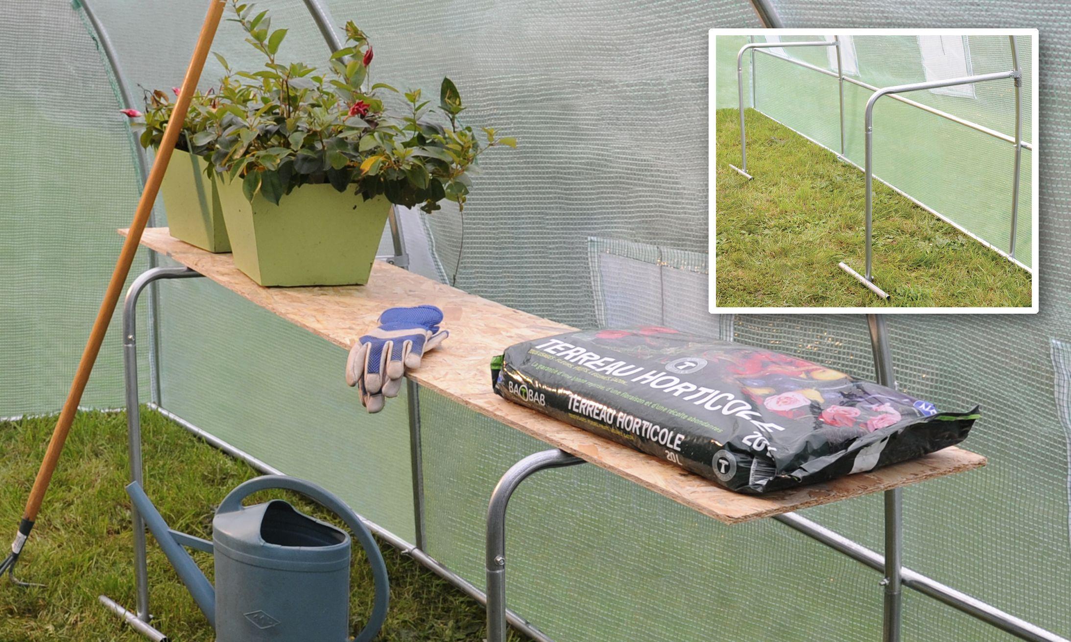 Organisez votre serre avec cette astuce #jardinage : des ...
