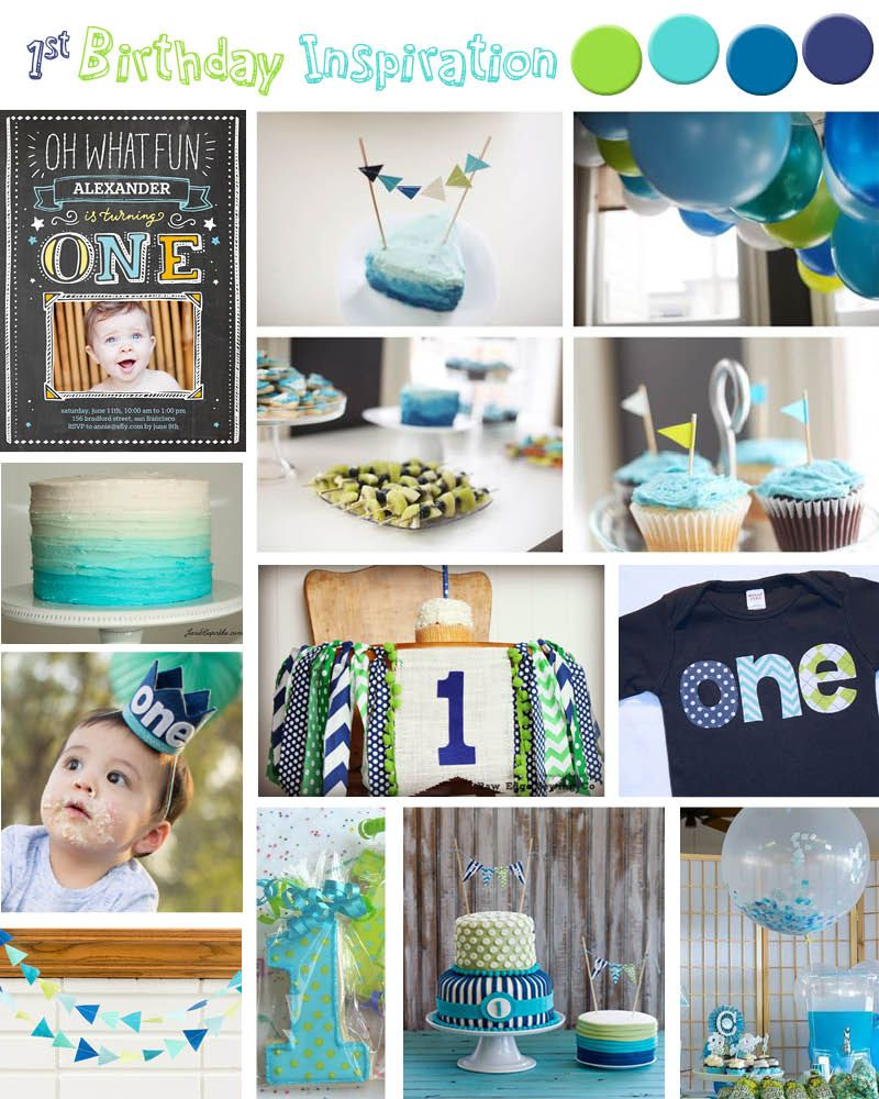 {One Oh What Fun} First Birthday Party Inspiration