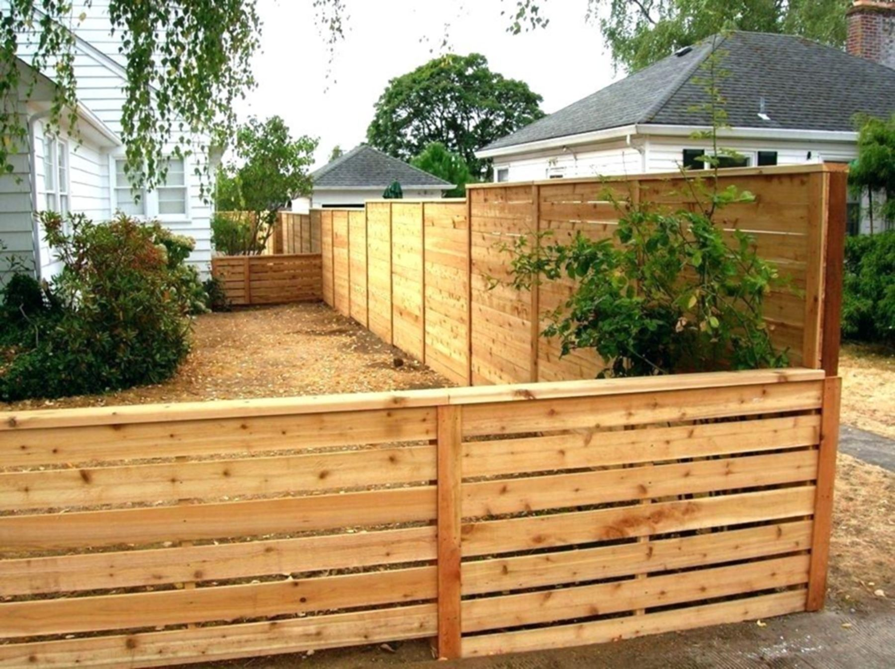 8 gorgeous minimalist wooden fence design ideas to make on inexpensive way to build a wood privacy fence diy guide for 2020 id=22806