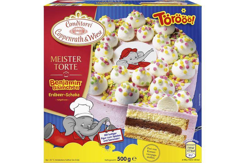 Benjamin Blumchen Torte Von Coppenrath Wiese Geburtstagskuchen Kinder Kinder Torten Torte Einschulung
