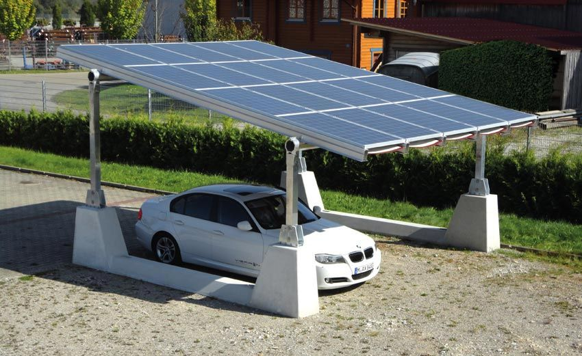 Carport Solar Structures Vispiron Ag Overview 차고 대체