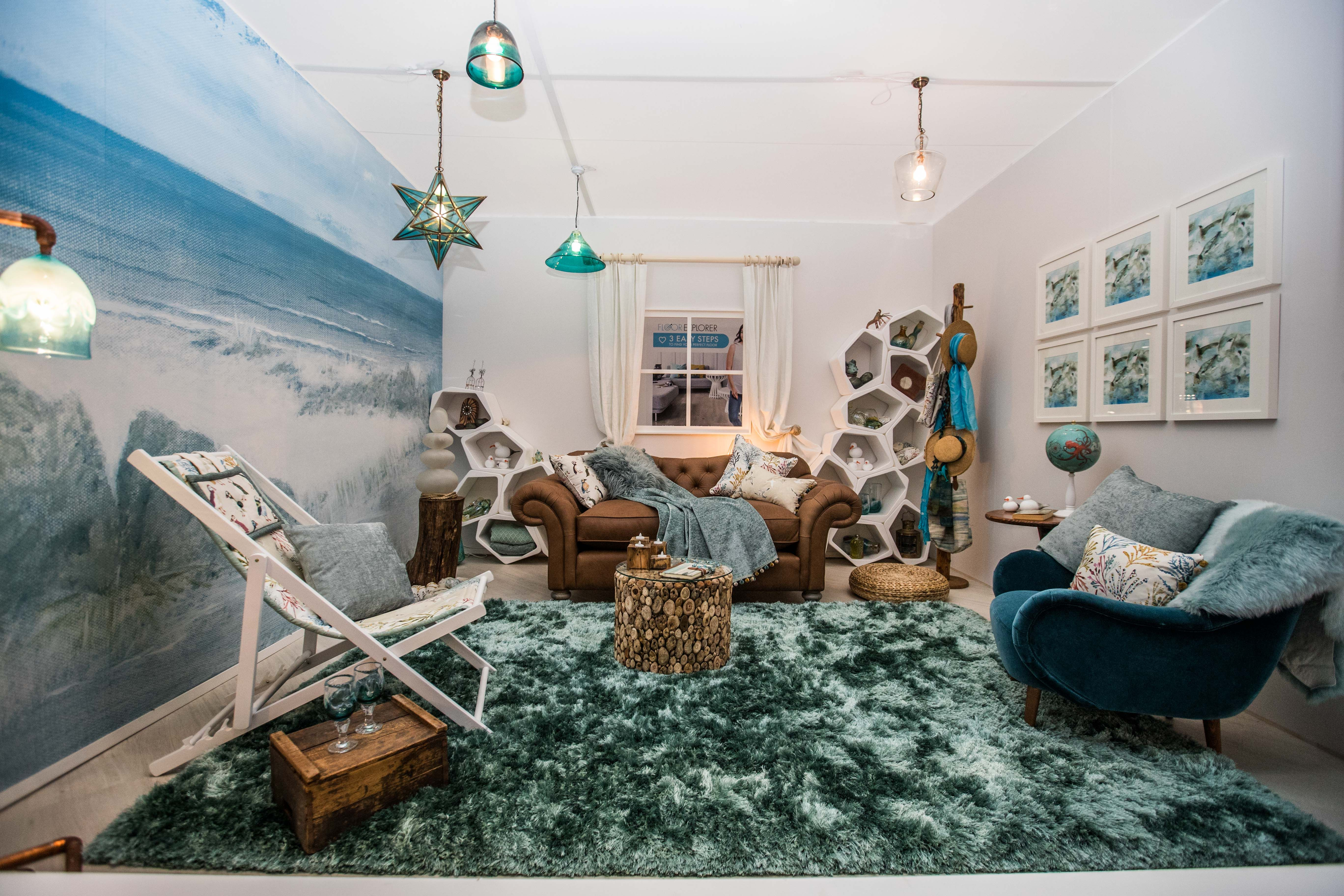 Inspired By The Homes Sea TV Show This Interior Room Set Was Created For