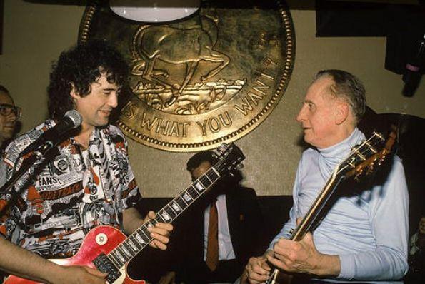 Les Paul The Guitar Great's Life in Photos Les paul