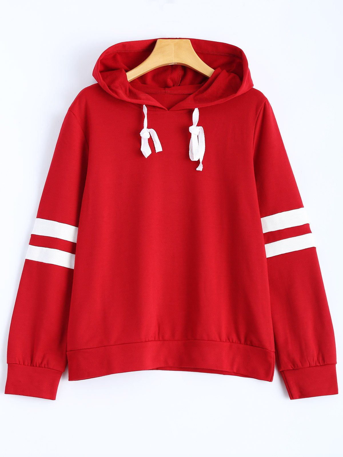 4b8c2c73 Stripes Pullover Hooded Sweatshirt | Stuff to buy | Sweatshirts ...