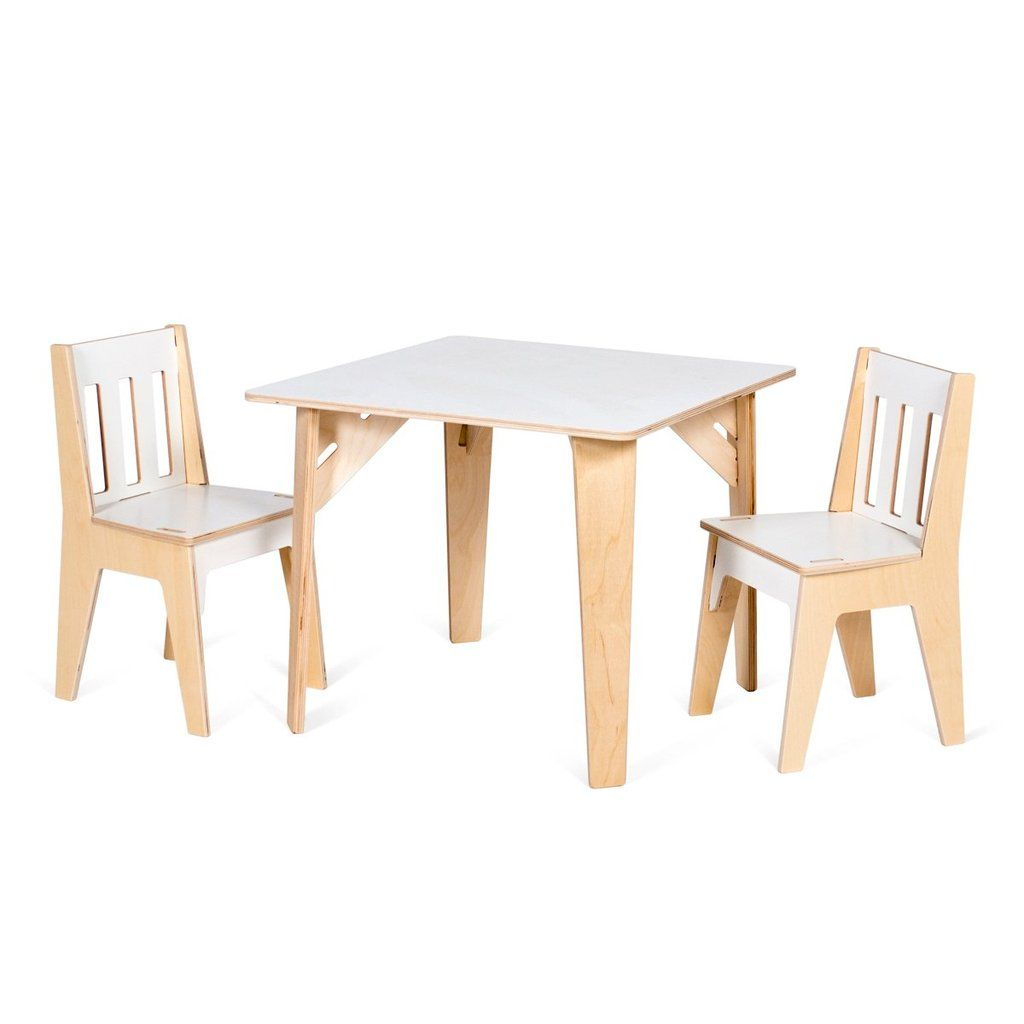 wooden kids table and chairs babes pinterest kids table and rh pinterest ca