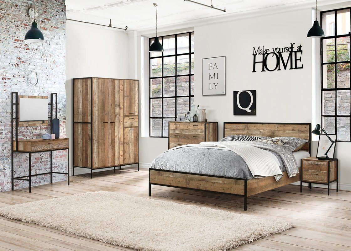 Alamo Bed Frame Urban Bedroom Rustic Bedroom Design Bedroom