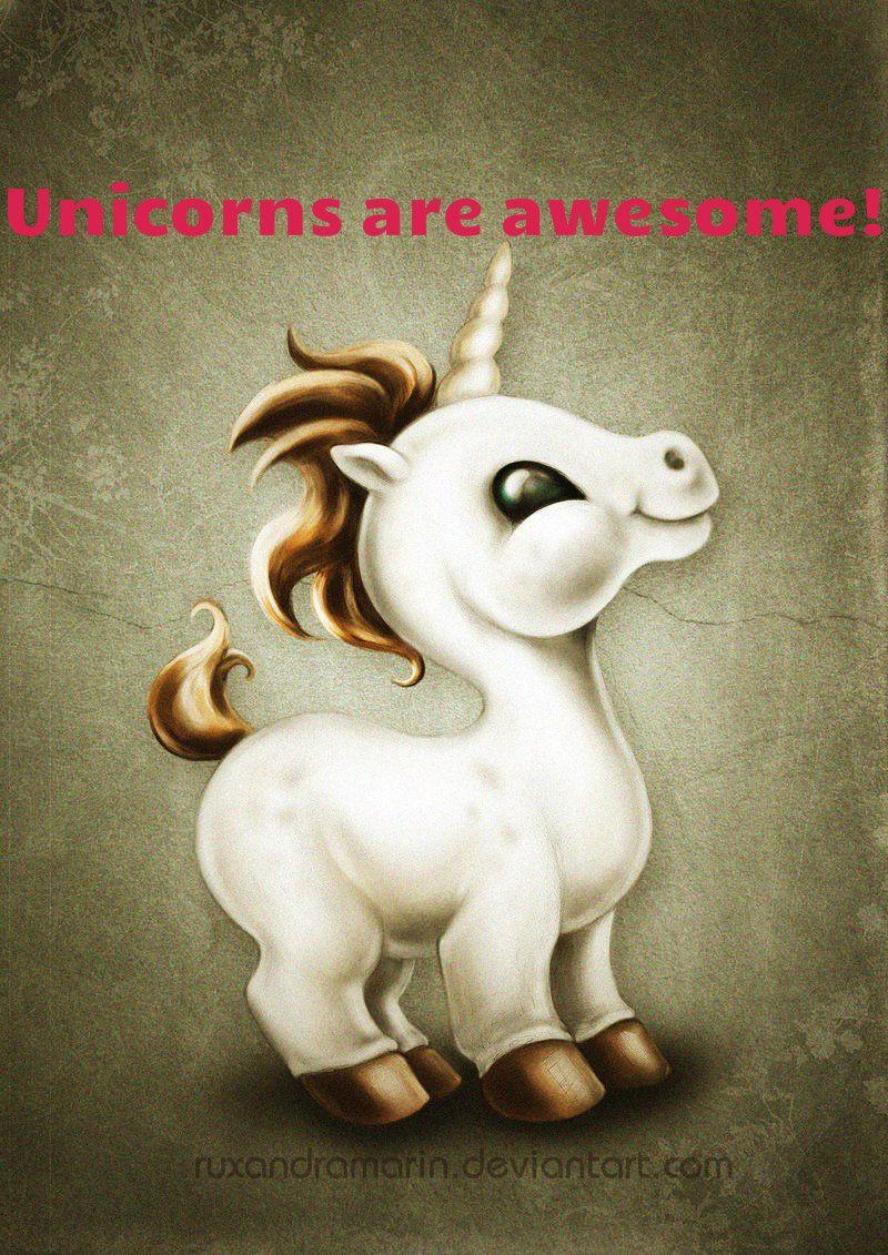 Unicorns are awesome   Kawaii Kitsch Fun  teklaverradesign.blogspot.com