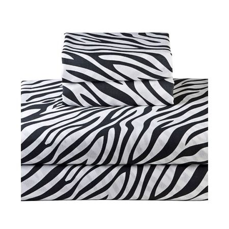 Zebra Sheet Set from the Mr. Goodwill Hunting event at Joss and Main!    (available- simply double click)