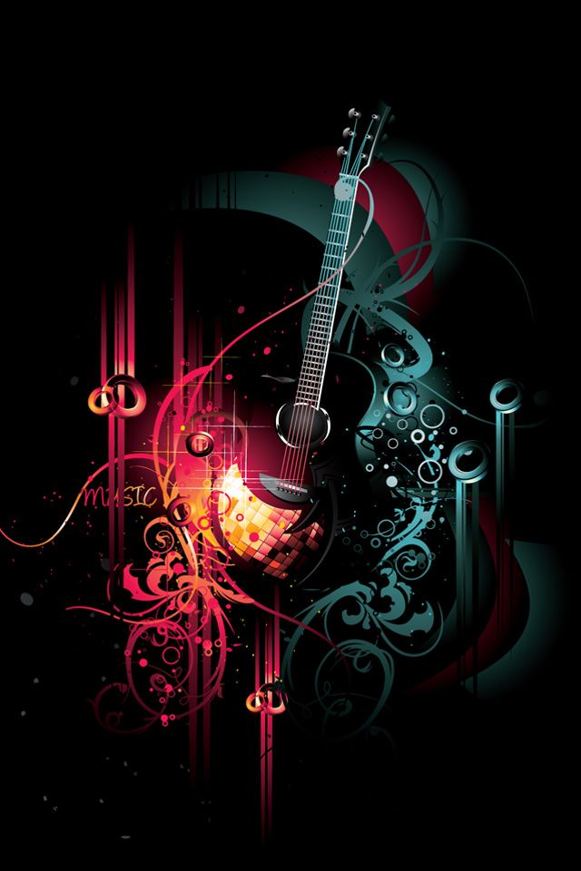 Power Of Music Mobile Phone Wallpaper | Cool iPhone Wallpapers in 2019 | Apple wallpaper iphone ...