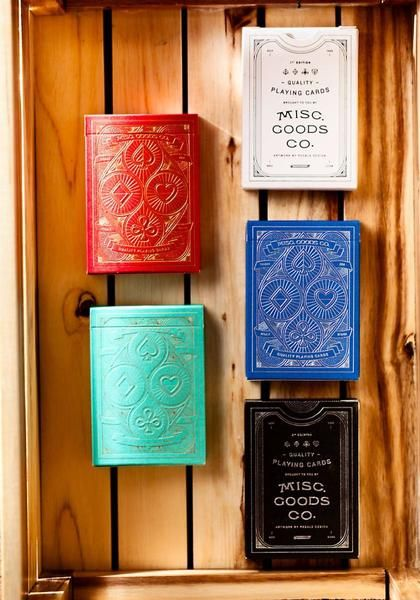 Playing Cards - Misc. Goods Co.