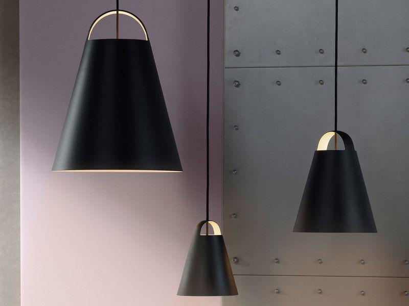 Above is a new overtly simplistic contemporary pendant light from louis poulsen and the