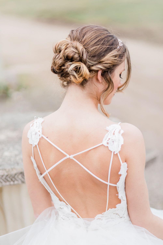Greenhouse Wedding Ideas At The Secret Herb Garden Wedding Dress