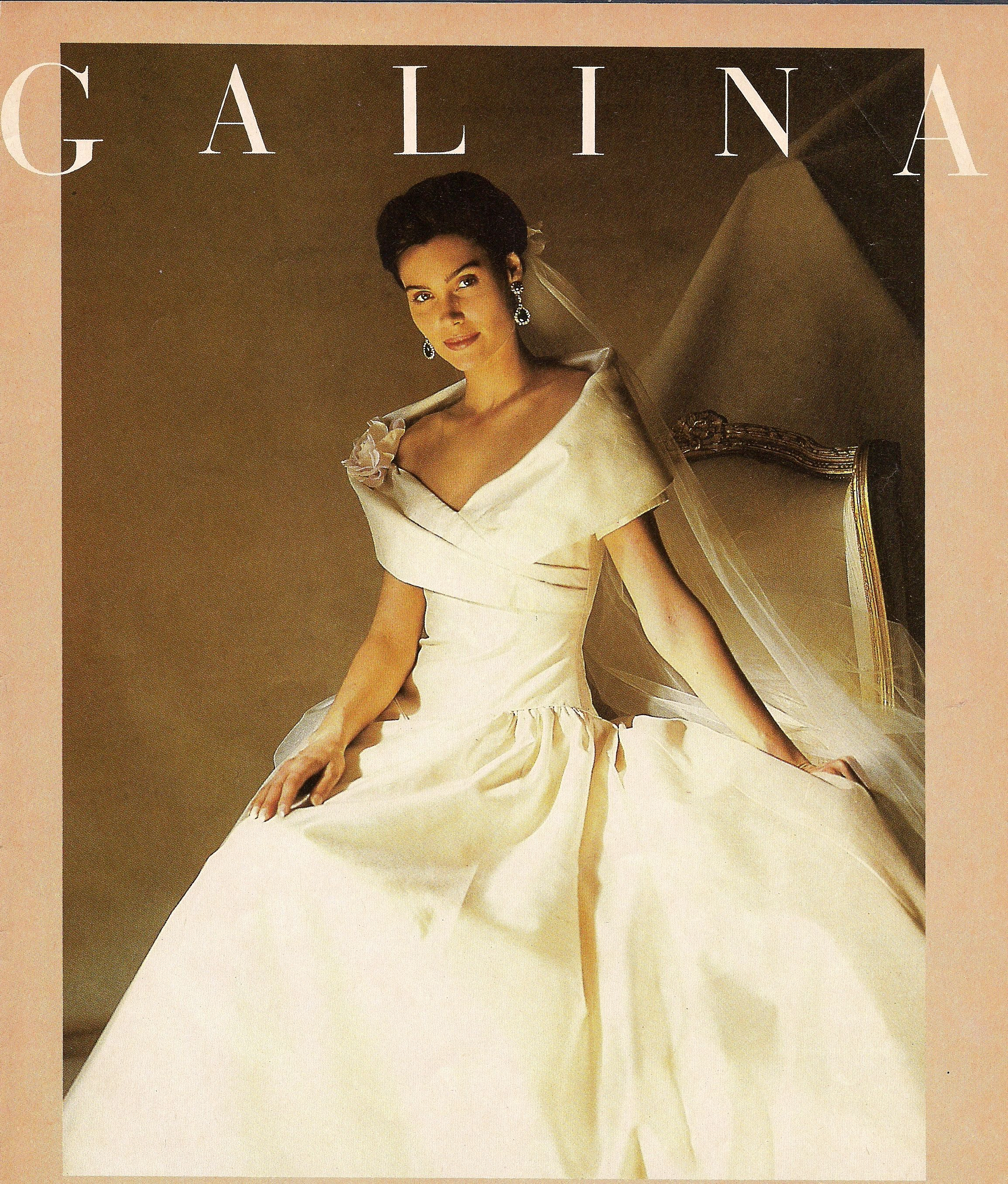 1991. Nice Wedding Gown With None Of The Excesses In