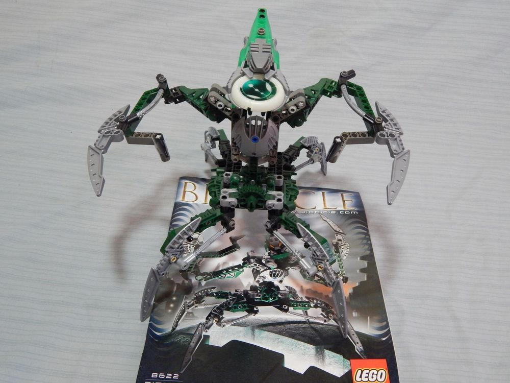 Lego Bionicle Nidhiki 8622 Complete W Instructions #LEGO   Cool ...