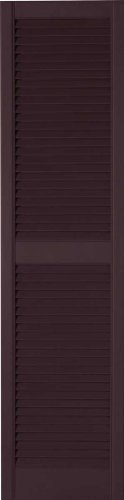 Richwood Black 15x55 Open Louver Shutter Pair by Richwood. $43.99. Variety of Sizes to Fit your Windows. Virtually Maintenance-Free. A Style & Color for You. Industry-Leading Warranty. Quality Shutters for Any Home. Nothing gives your home a classic look like louvered shutters. Steeped in the traditions of American history, our elegant louvered shutters provide the perfect finishing touch to your home by capturing the rich, natural wood grain texture of real woo...