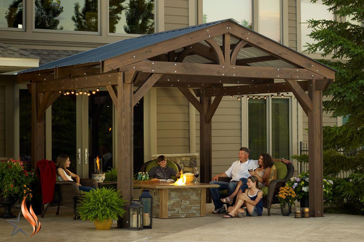 The Outdoor Greatroom Company Lodge Ii Pergola Roof Reviews Wayfair Modern Pergola Wood Pergola Outdoor Pergola