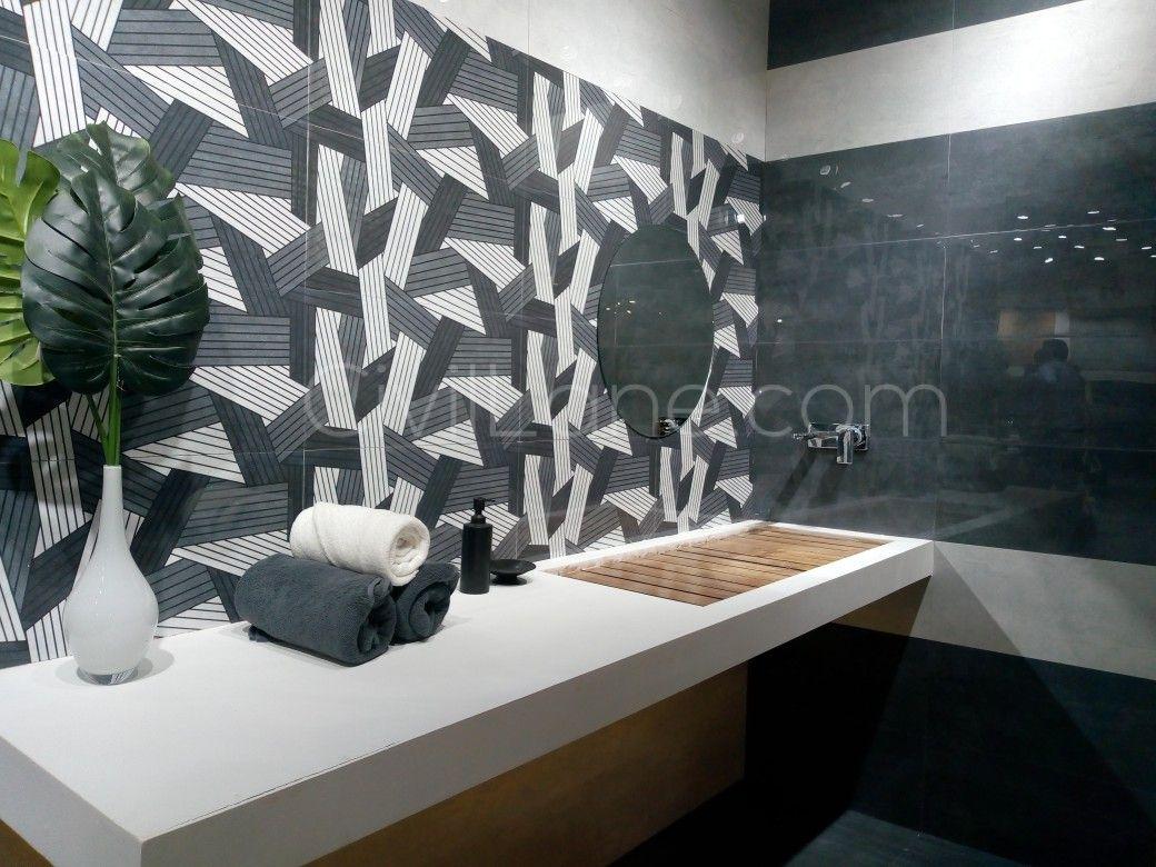 Grey Lavish Bathroom Concept Bathroom Design Modern Toilet Home Decor Decals
