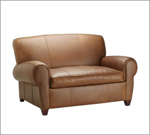 Manhattan Leather Chair And A Half In Hazelnut