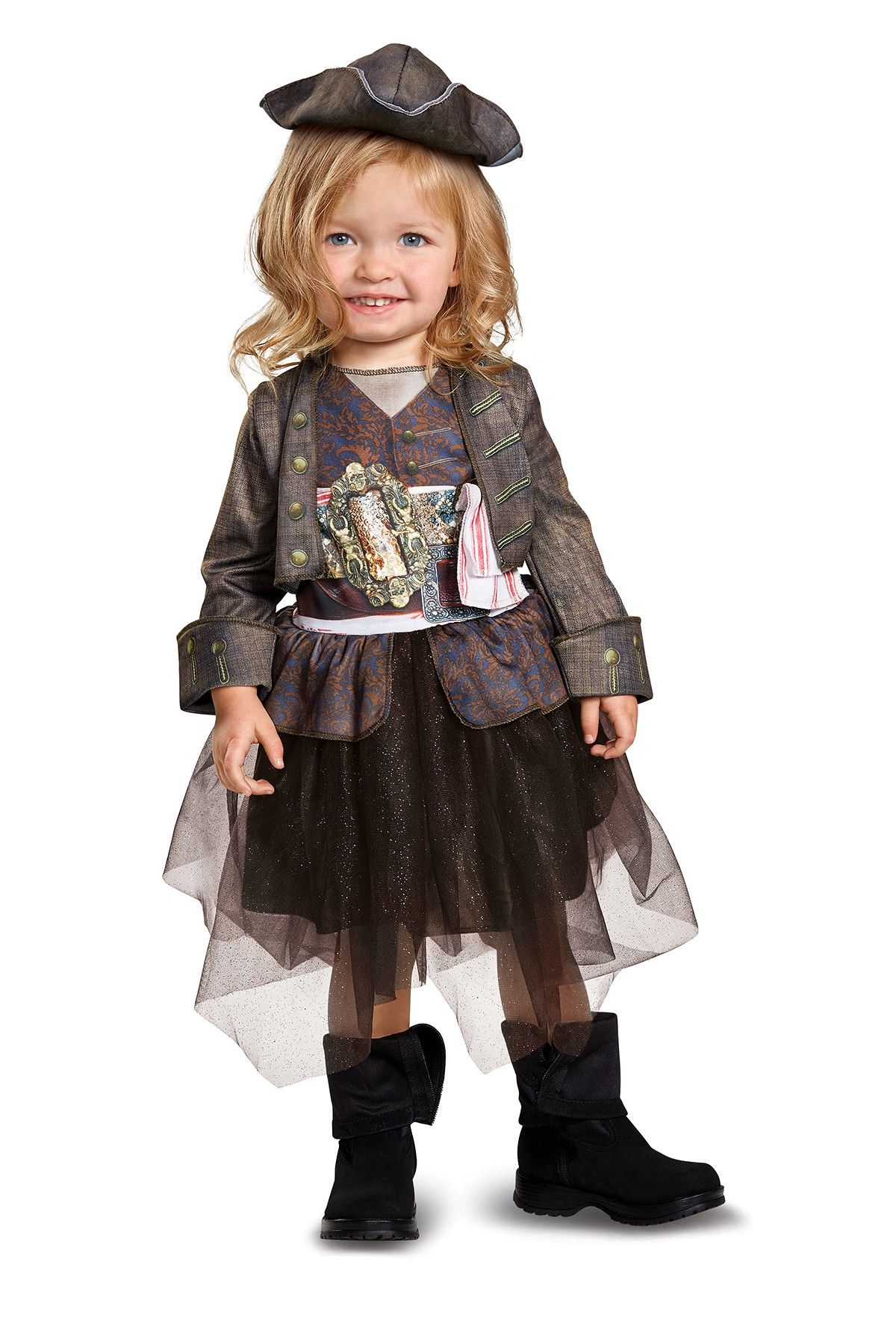 Disguise Pirates of the Caribbean Capetian Jack Inspired Tutu ...
