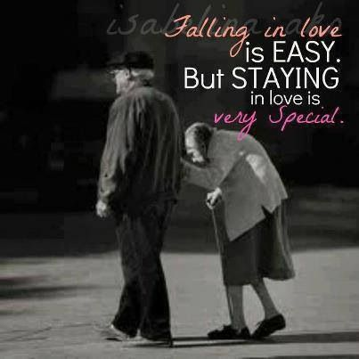 Falling In Love Is Easy. But Staying In Love Is Very Special!