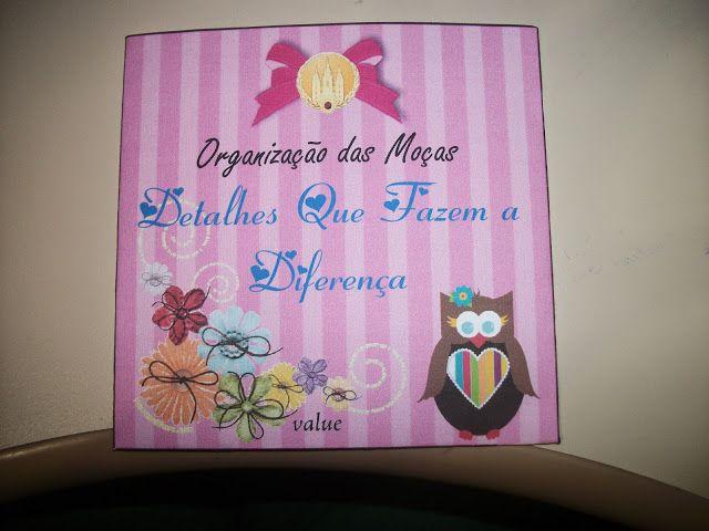 """As Tontas Vão Ao Céu: Capa para CD de Treinamento - """"Detalhes Que Fazem ..."""