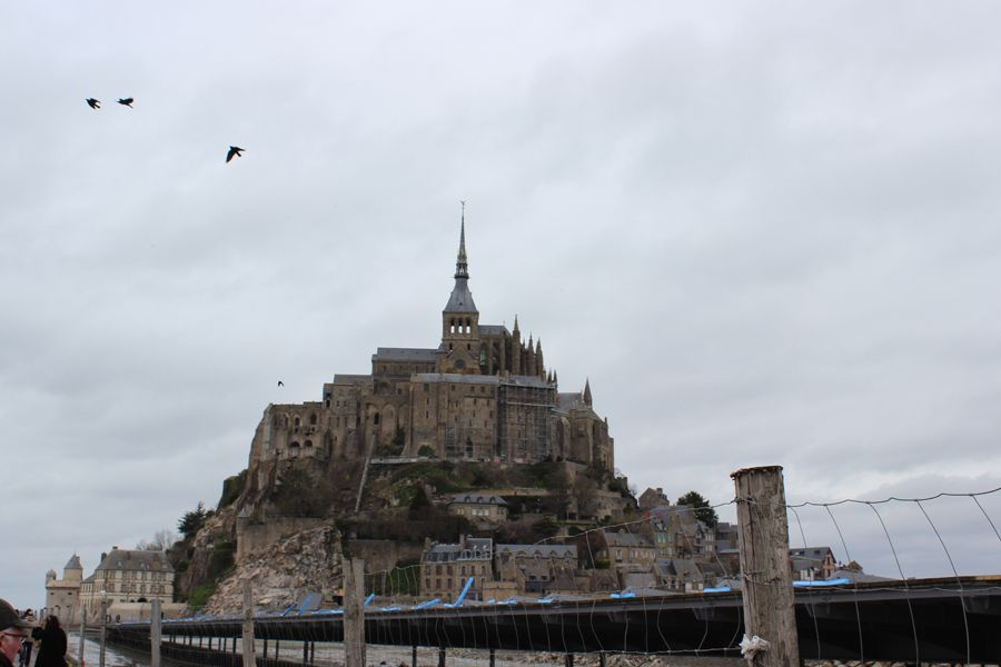 Places to see in Bretagne: Mont Saint Michel