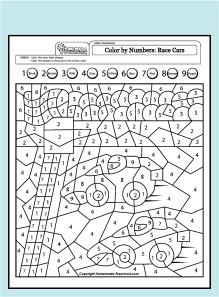 Fun And Interactive Preschool Worksheets Color By Numbers Alphabet Coloring Pages Preschool Worksheets