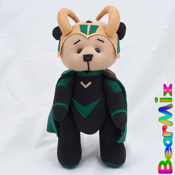 Captain America bear Stealth suit marvel superhero movie comic plush toy avengers steve rogers