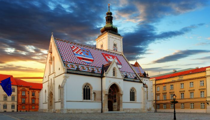 Markov Trg Zagreb Zagreb Croatia Travel Croatia