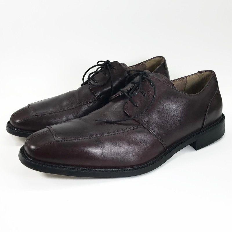 Florsheim Split Toe Oxford Mens Leather Black Shoes Size 9.5 D