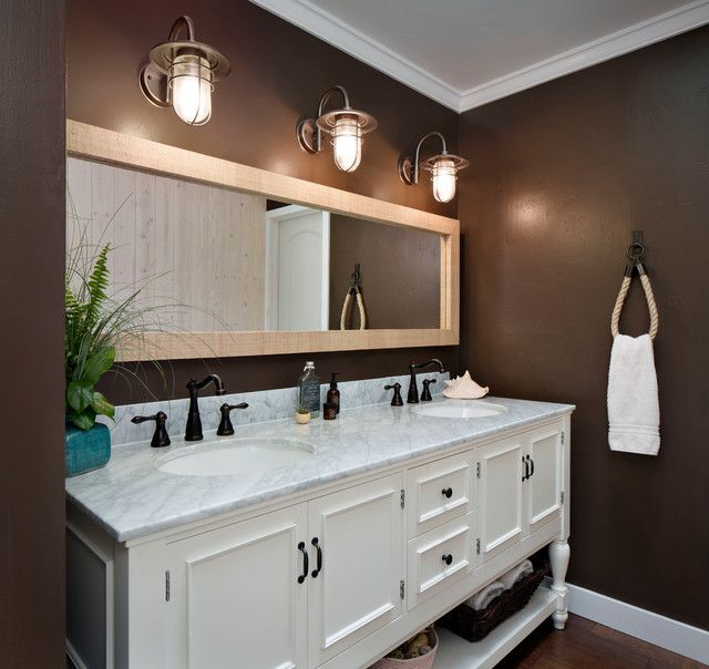 Vivacious Underwood Residence Beach Style Bathroom Design Interior