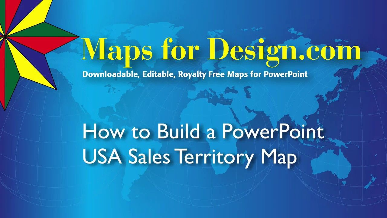 How to Make a PowerPoint USA Sales Territory Map from MapsForDesign ...