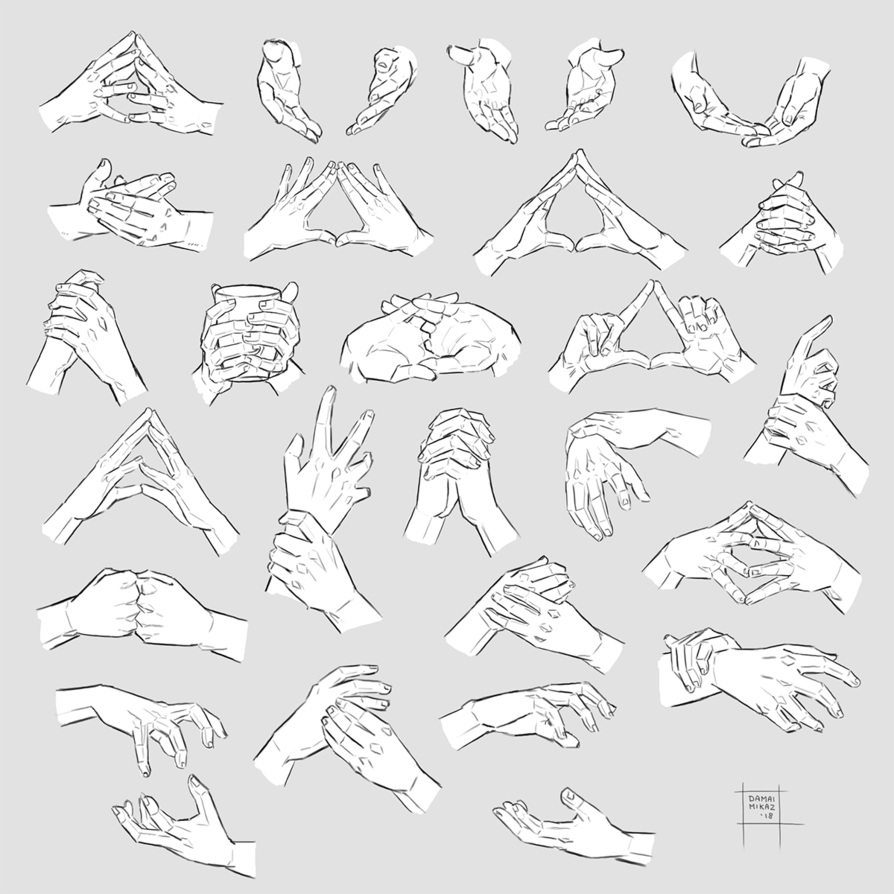 Sketchdump May 2018 [Both hands] by https//damaimikaz