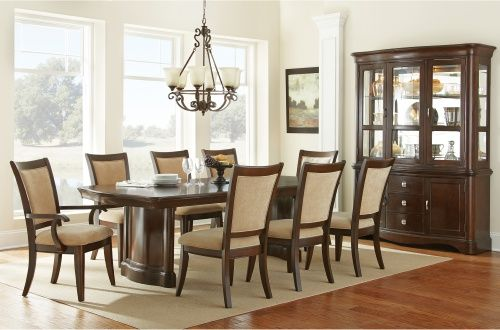 Dining room set with hutch Home Renovation Pinterest Dining