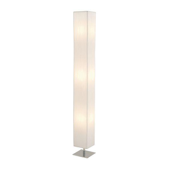 Studio 350 Contemporary Styled Steel Fabric Floor Lamp, Beige Off ...