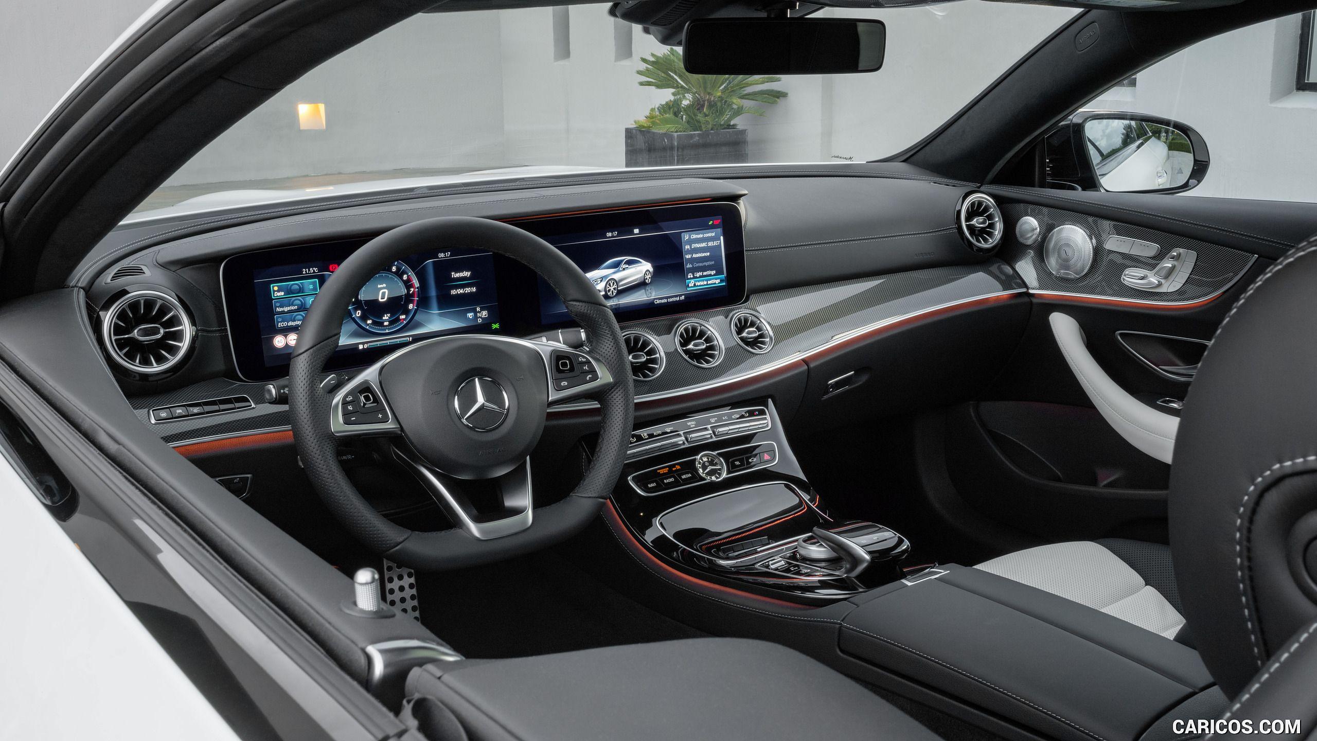 2018 Mercedes Benz E Cl Coupe Wallpaper