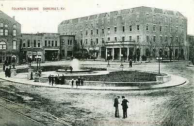 Somerset,KY  1909 on Fountain Square in 2019 | Somerset, KY