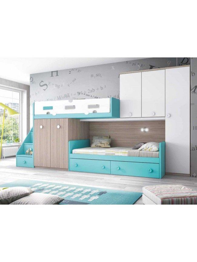 lit superpos d cal personnalisable f258 glicerio chambre bed basement makeover et room. Black Bedroom Furniture Sets. Home Design Ideas