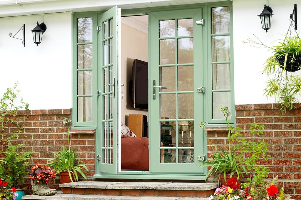 doors double glazed exterior back doors everest